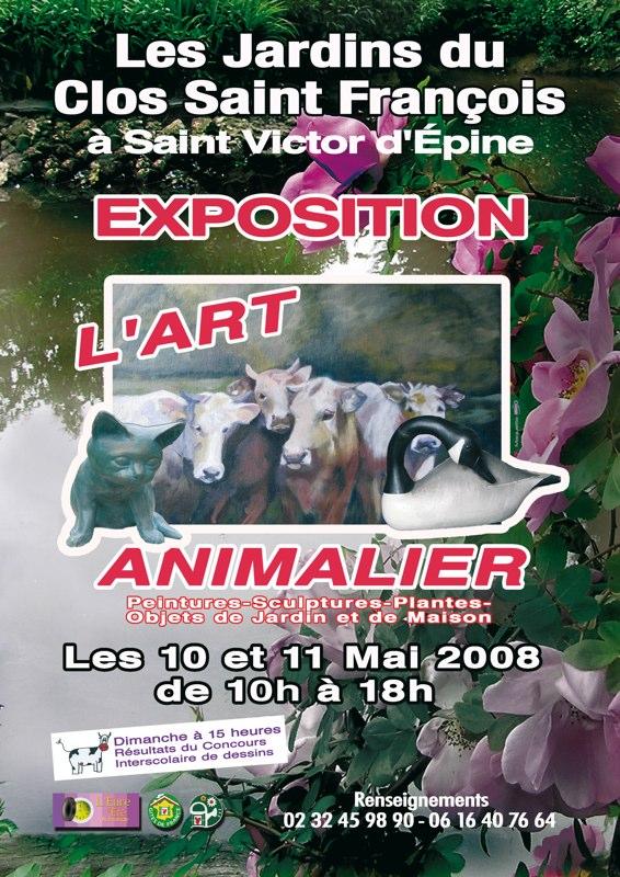 Clos St Francois Art animalier 2008