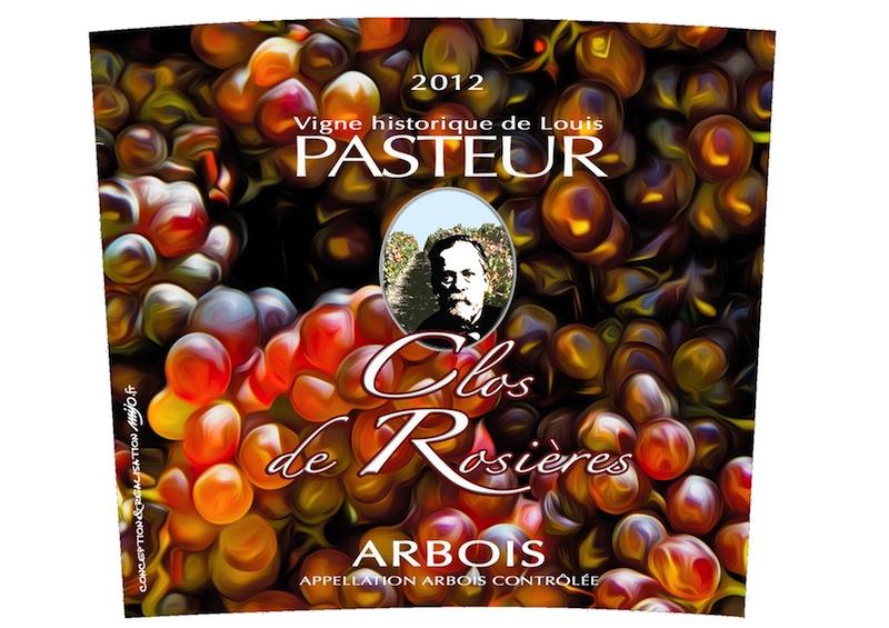 Etiquette clos de rosières 2012