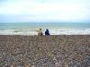 Seuls sur la plage