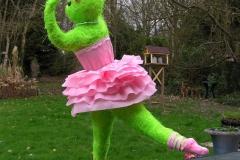 Une souris verte qui dansait sur l\'herbe